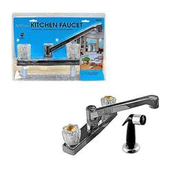 "8"" Kitchen Faucet w/Sprayer"