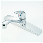 Single-Lever Handle with D-spout
