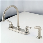 "8"" Kitchen with Teapot Handles Brushed Nickel"
