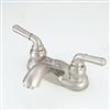 "4"" with Teapot Handles & Arc Spout Brushed Nickel"