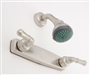 "8"" Shower Valve w/Teapot Handles w/Shower Kit Nickel"