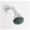 Shower Head Arm & Flange Chrome