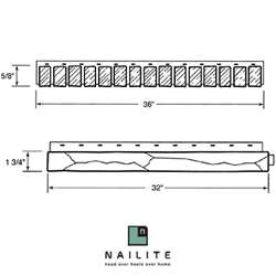 Nailite Ledge Trim