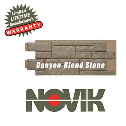 Novik Hand-Cut Canyon Blend Stone Pattern
