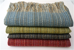 Alpaca and Wool Throw Blanket, Our Deckchair Throw is Luxurious, Silky Soft and All Natural