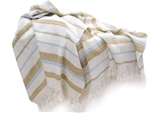 Boathouse Alpaca and Wool Throw Blanket, All Natural