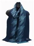 100% Premium Baby Alpaca Scarves, Arrow Jacquard Scarf is more Durable than Cashmere