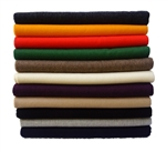 100% Baby Alpaca Throw Blankets - Solid Color Broad Selection, All Natural
