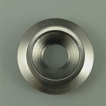 Anodized Aluminum Counter sunk washer, 25mm outer diameter, gunmetal grey