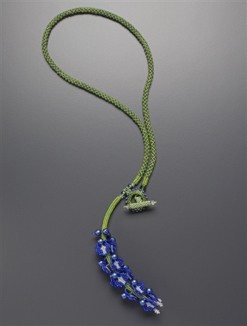 True Blue Necklace, original color way