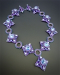 Treasure Necklace Kit, lilac and aqua