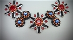 Renaissance Revival Necklace Kit, All New! Red, Black & White