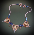 Mid Summer Night's Necklace Virtual Workshop and Kit (coral sapphire kit) - June 25th, 2021