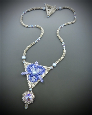 Nouveau Orchid Necklace Virtual Workshop and Kit (silver kit) - April 9th, 2021