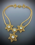 Stern Blume Halskette Necklace Virtual Workshop and Kit (gold kit) - June 11th, 2021