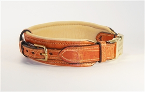Luxury Handcrafted Alligator Leather Collar & Leashes