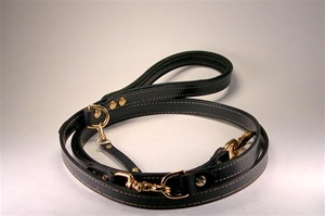 The Zorbo Leash | Hand Made Leather Leash | HandCrafted Dog Collars