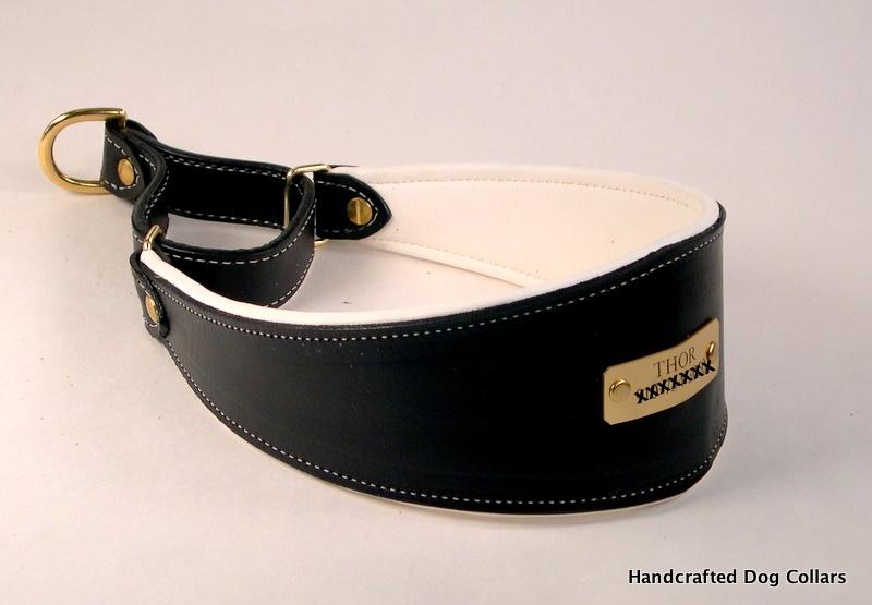 Custom Leather Padded Martingale Collars