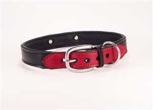 Jasper Classic Leather Dog Collar