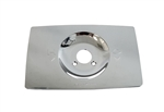 American Standard 29139-0600 Escutcheon Plate for Push-Pull Shower Valves, Polished Chrome