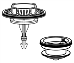 American Standard M964952-0070A Piston Assembly