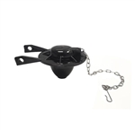 Case SP-73 Flapper with Chain and Hook, Black Rubber