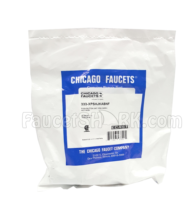 Chicago Faucets 333-XPSHJKABNF Push Button Operating Cartridge