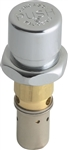 Chicago Faucets 333-XSLOPJKABNF NAIAD Slow Push Button Operating Cartridge