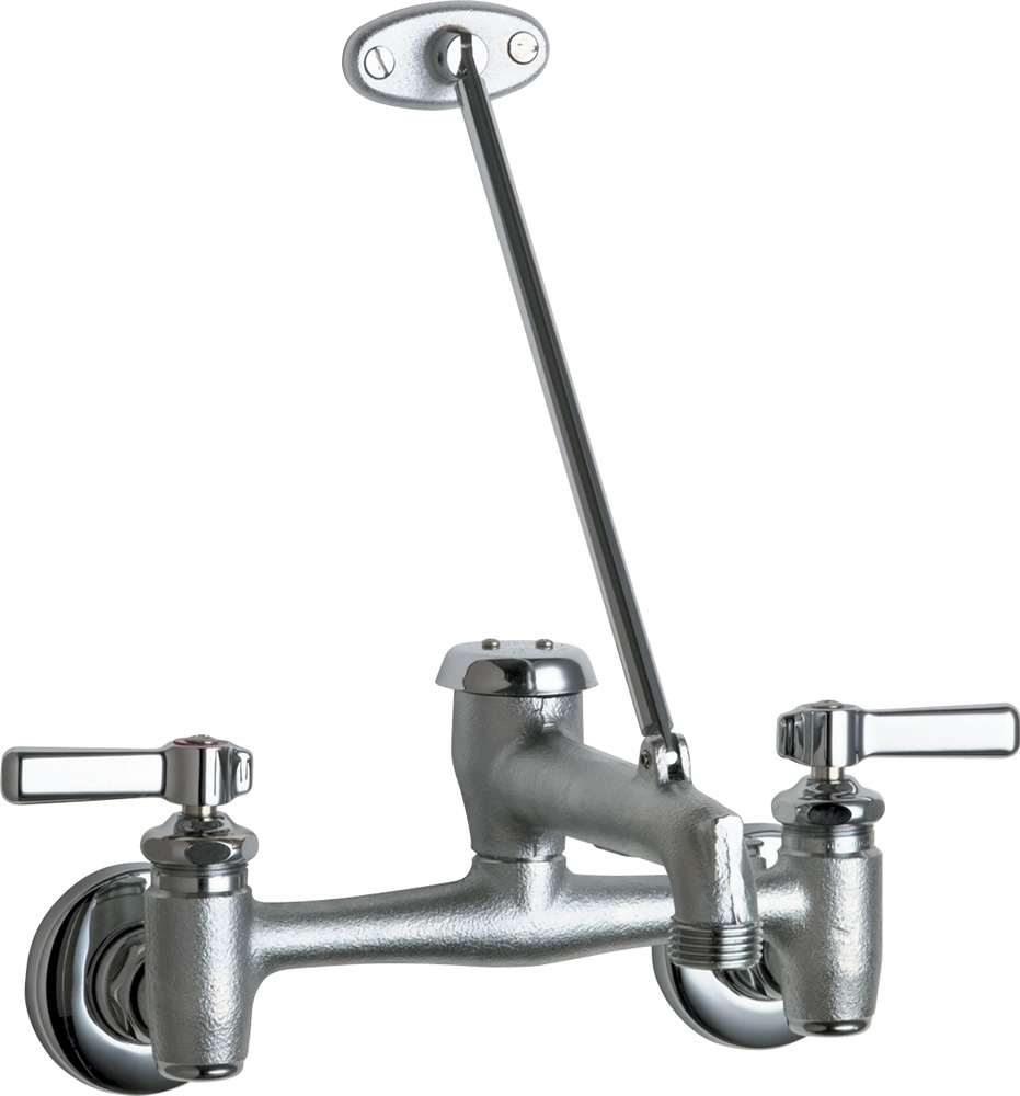 Chicago Faucets 897-RCF Wall Mount Service Sink Faucet