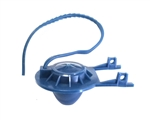 Eljer 495-6029-00 Blue Flapper with Pull Strap