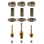 Three Handle Tub and Shower Rebuild Kit for Indiana Brass - IN103KIT