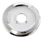 Pfister Tub and Shower Escutcheon Plate, Polished Chrome. This is a chrome plated metal escutcheon trim plate for older Pfister single handle tub and shower valves that use the 900-022 Cartridge