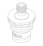 Gerber 98-699 Hot Water Compression Cartridge