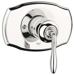 Grohe 19 708 BE0 Seabury Pressure Balance Valve Trim, Polished Nickel InfinityFinish Finish