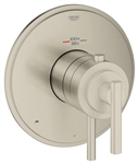 Grohe 19 849 EN0 GrohFlex Timeless Dual Function Thermostatic Trim with Control Module, Brushed Nickel InfinityFinish
