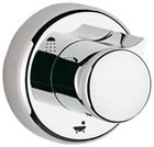 Grohe 19905000 Chrome Plated 5-Port Diverter Trim