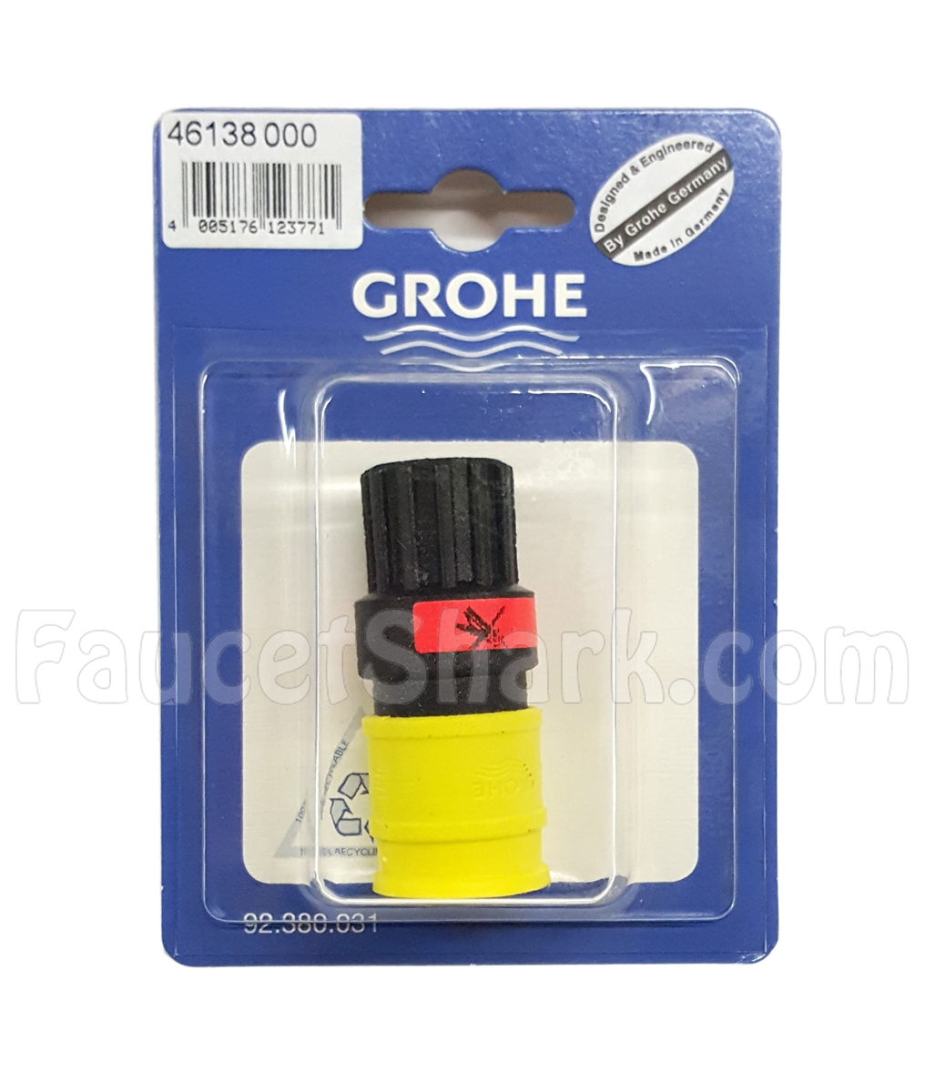 Grohe 46138000 Yellow and Black Quick Snap Coupling