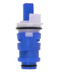 Milwaukee/Carefree Blue Washerless Plastic Stem Cartridge, Cold Water - 11-7346C