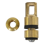 American Standard Ballcock Brass Plunger Repair Kit - 68-2962. Replacement for American Standard 12962-0900