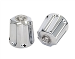 Gerber Tub and Shower Handles with Short Broach, Chrome Plated - 99-1153