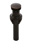 Pfister 972-097Y Push & Seal Drain Assembly, Tuscan Bronze