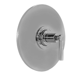 Sigma 1.070796.V0.42 Contemporary 1/2 inch Thermostatic Valve With Stella No Volume Control, Satin Nickel PVD