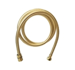 Sigma 18.10.016.40 Spiral Hose 60 inch, Polished Brass PVD