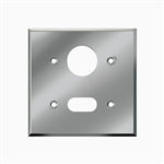 Sloan EL-151 Cover Plate for Sensor and Solenoid Operator, Polished Chrome (0305151PK) - Urinal Only