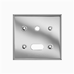 Sloan EL-201 Cover Plate for Sensor and Override Button, Polished Chrome (0305219PK)