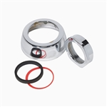 Sloan F-5-A 1-1/2 inch Spud Coupling Assembly Kit, Polished Chrome (0306146)