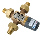 Symmons 7-225-CK-MS Maxline Thermostatic Mixing Valve with 1/2 inch NPT Male x 1/2 inch Female Sweat Connections
