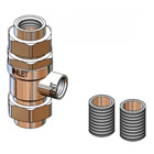 T&S Brass B-0962 Backflow Preventer, 3/4 inch NPT, Designed For Continuous Pressure, Atmospheric Vent