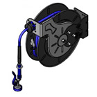 T&S Brass B-7242-01 -Epoxy Coated Open Hose Reel, 3/8 inch Id X 50' Hose, EB-0107 Spray Valve