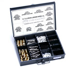 T&S Brass B-7K Eterna Master Parts Kit. The T&S Brass B-7K Eterna master parts kit includes enough washers, stems, packings and gaskets to repair up to 25 Eterna cartridges.